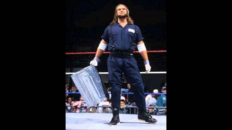 Duke the Dumpster Droese, the wrestling garbage man.