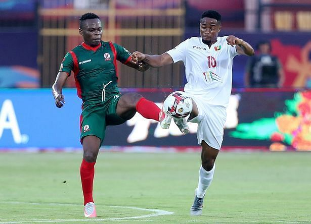 Liverpool could make a late approach for Francois Kamano(in whites).