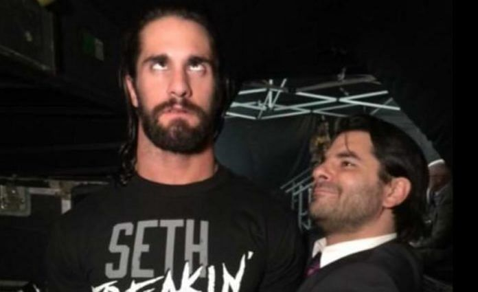 Jimmy Jacobs with Seth Rollins