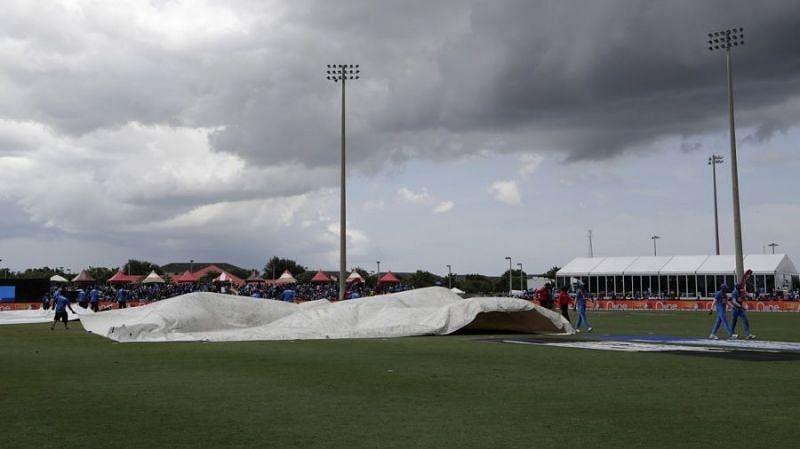 भारत ने वर्षा बाधित मैच में दर्ज की जीत