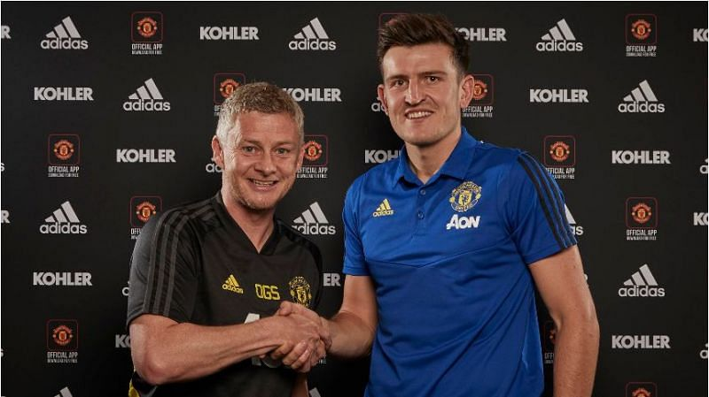 Harry Maguire is finally unveiled as a Manchester United player.