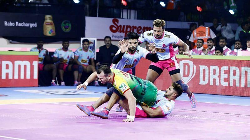 Sandeep Dhull was stellar against Patna.