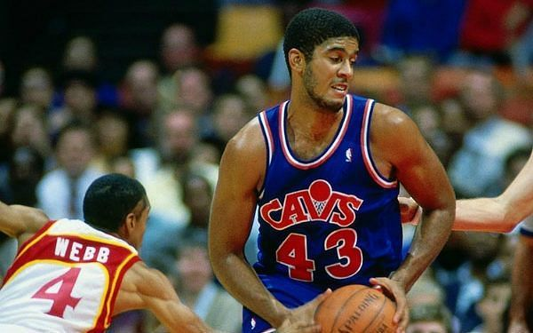Brad Daugherty played for the Cleveland Cavaliers