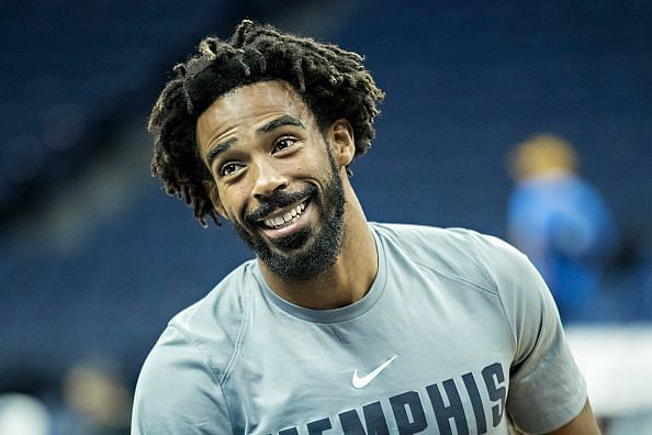 Mike Conley spent 12 years with the Memphis Grizzlies before heading to Utah