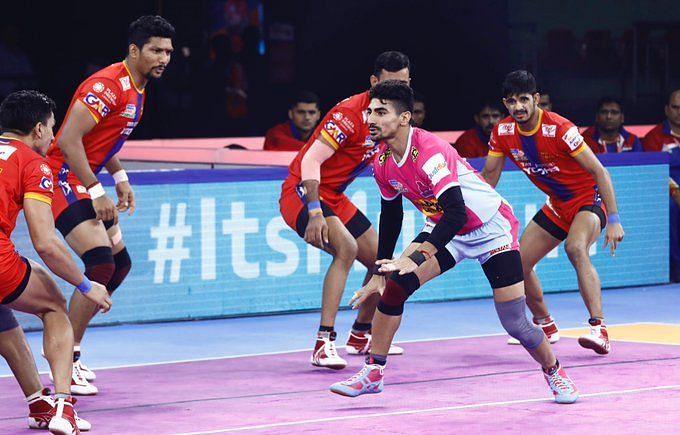 जयपुर पिंक पैंथर्स को मिली सीजन की दूसरी हार