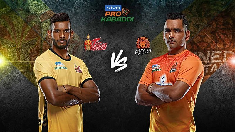 Puneri Paltan look to even their head to head record against Telugu Titans tonight.