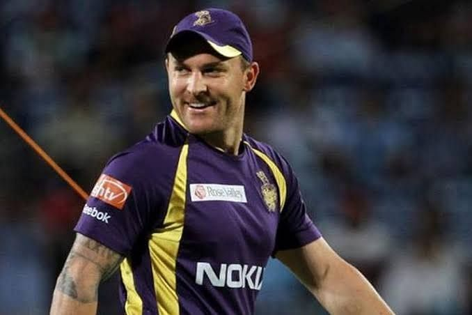 Brendon McCullum previously represented Kolkata Knight Riders as a player from 2008-2010