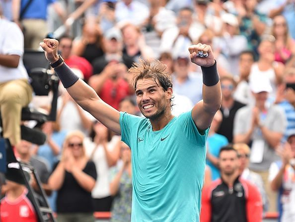 Nadal beats Medvedev to win a record extending 35th Masters 1000 title at 2019 Montreal