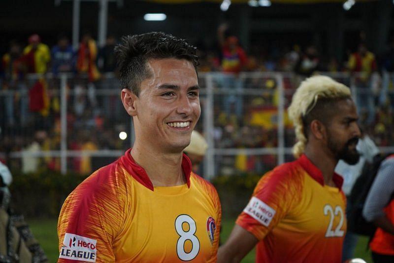 Jaime Colado was roped in by East Bengal last season