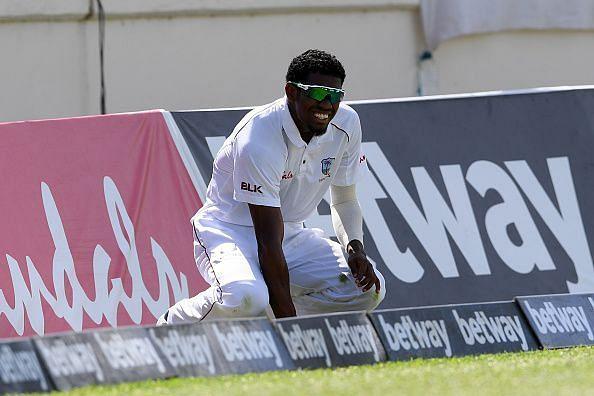 कीमो पॉल एड़ी की चोट के कारण पहला टेस्ट नहीं खेल पाये थे