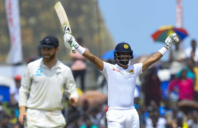 Karunaratne ton gives Sri Lanka Test championship lead Enter caption