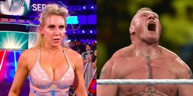 Charlotte Flair and Brock Lesnar