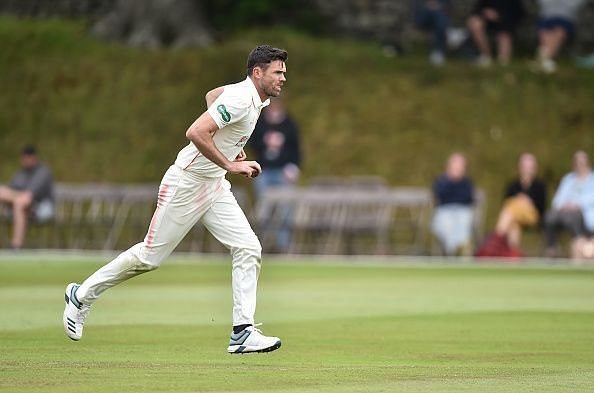 James Anderson - the bowler that Dale Steyn is most often compared with