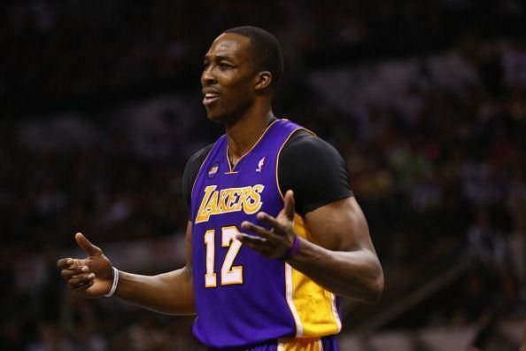 Dwight Howard spent the 2012-2013 season with the Los Angeles Lakers