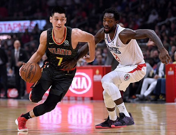 Jeremy Lin impressed during his reserve role with the Atlanta Hawks last year