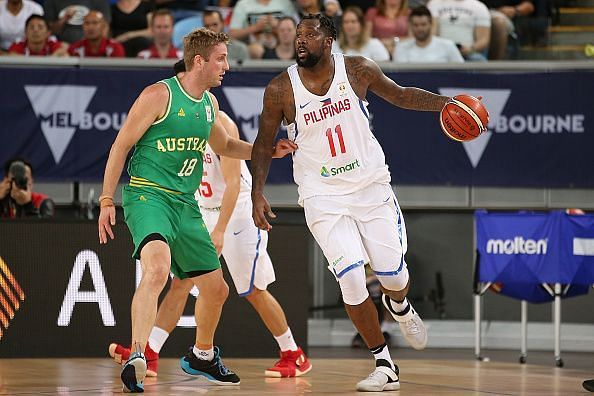 Andray Blatche will be among the stars on the show as the Philippines take on Italy