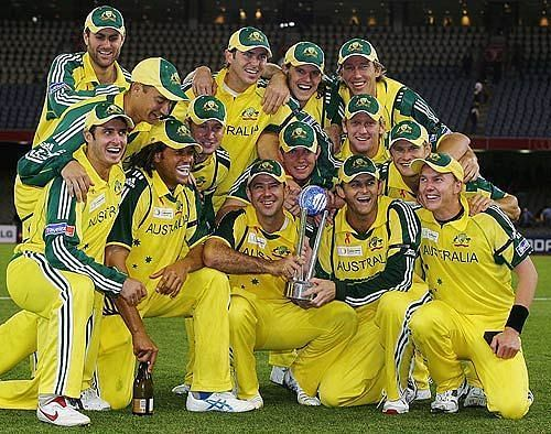 Australia won the series in 2005
