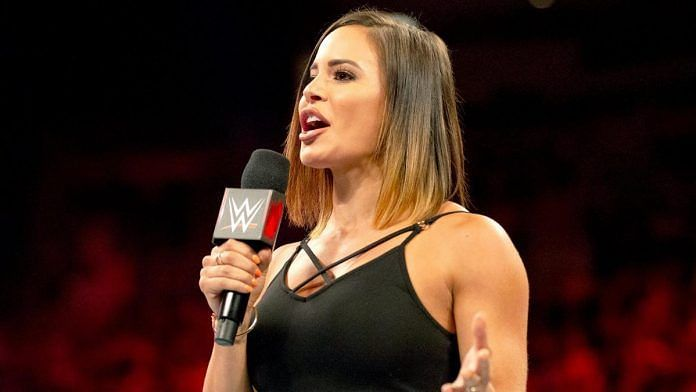 WWE interviewer Charly Caruso was absent from this week