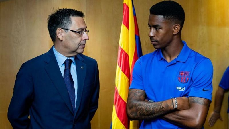 Barcelona recently completed the signing of Junior Firpo
