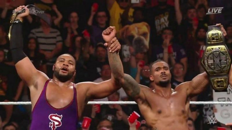 The Street Profits retain the NXT Tag Team Championships in a very entertaining match.