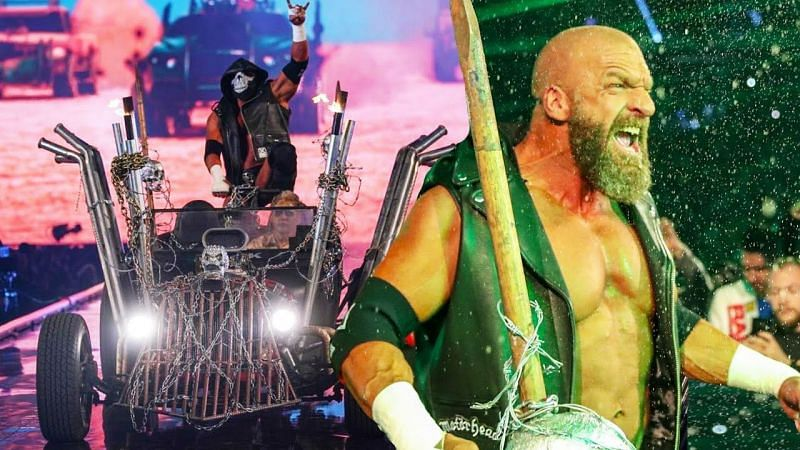 The Game has always made an epic entrance at WrestleMania, but it won