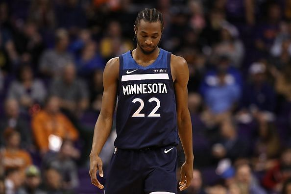 Andrew Wiggins has yet to fulfil his full potential with the Minnesota Timberwolves