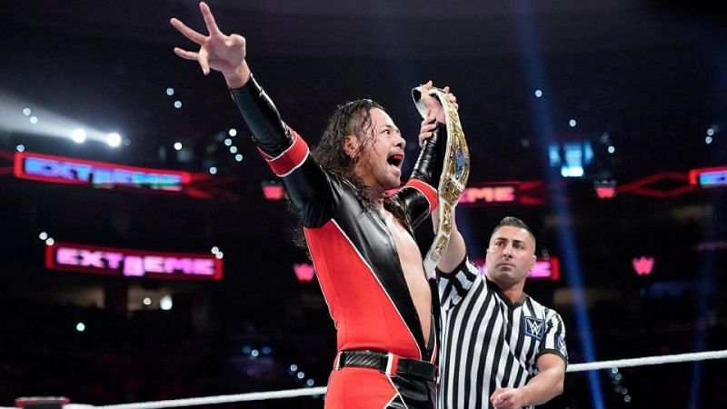 Shinsuke Nakamura won the Intercontinental Championship at Extreme Rules.