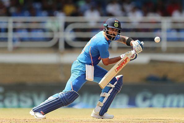 Virat Kohli on his way to yet another century