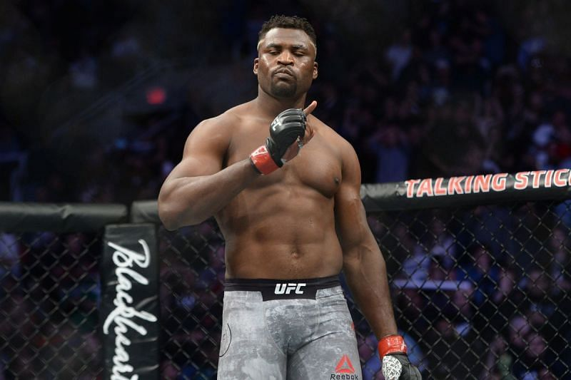 Francis Ngannou was certainly impressed!