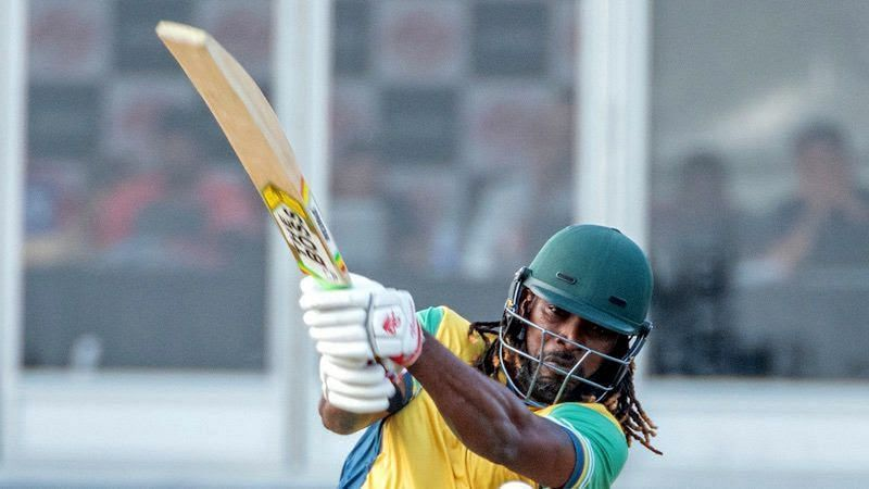 Chris Gayle was the captain of the winning side in Canada League 2018.