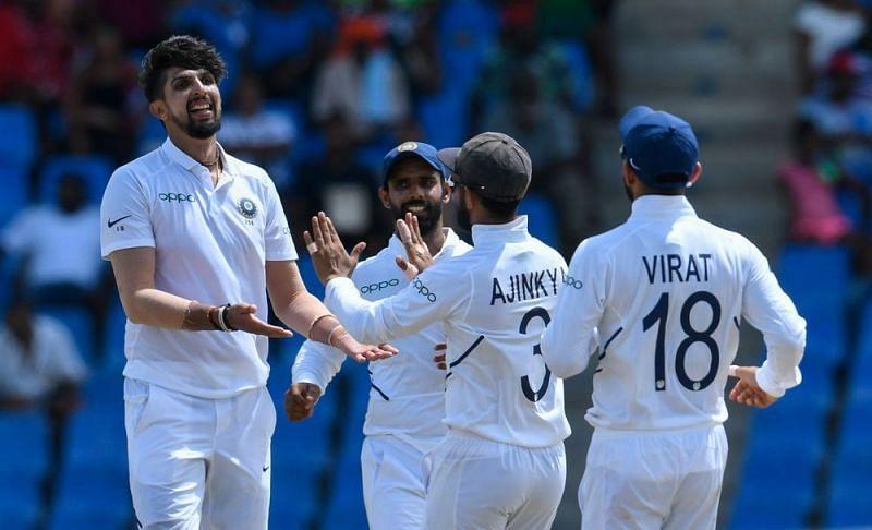 इशांत शर्मा ने अब तक 5 विकेट ले लिए हैं