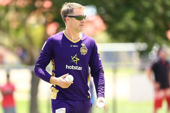Simon Katich was part of the coaching set-up for both of the Knight Riders franchises, Kolkata and Trinbago