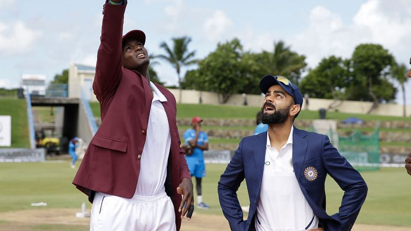 Ind vs WI 1st test, Antigua