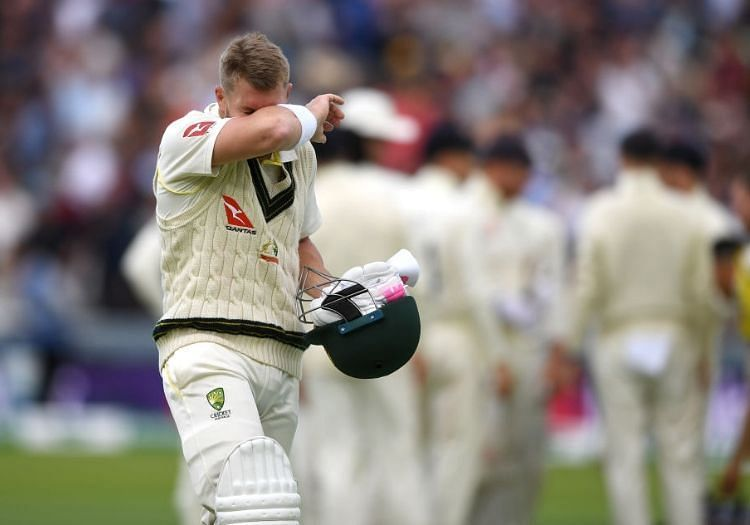 Australia opener David Warner at Lord
