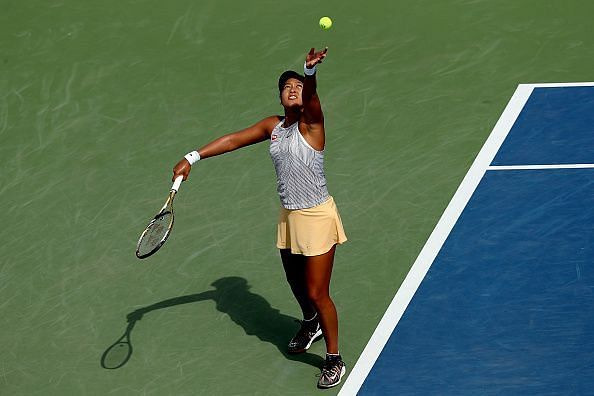 Naomi Osaka will be the defending champion at this year