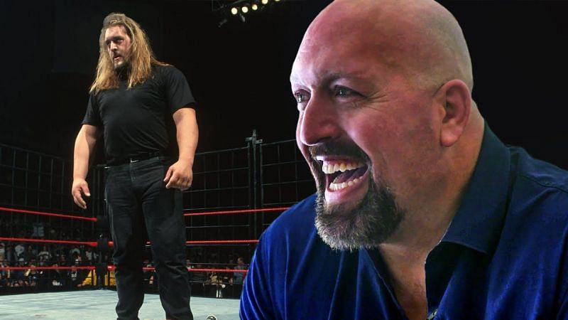 The Big Show Paul Wight at his debut in WWE and today