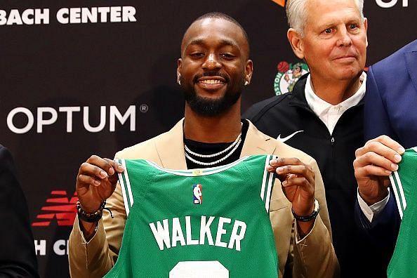 Boston Celtics Introduce Kemba Walker