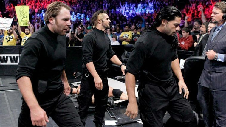 The Shield Main roster Debut