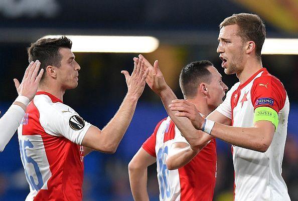 Slavia Praha.