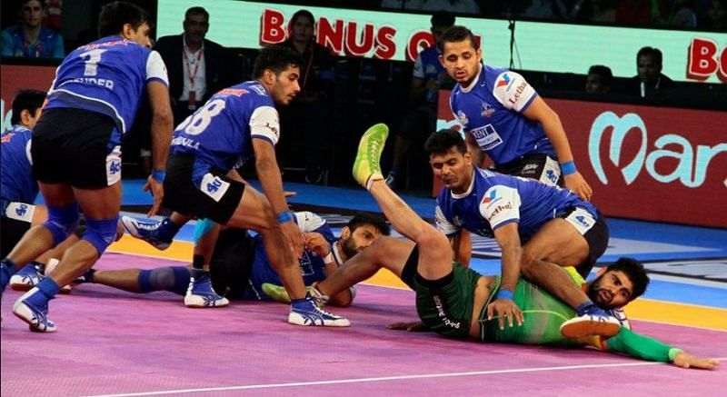 With 34 points in a single PKL game, Pardeep Narwal holds this record to his name