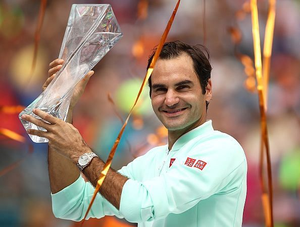 Federer wins his 28th Masters 1000 title at 2019 Miami