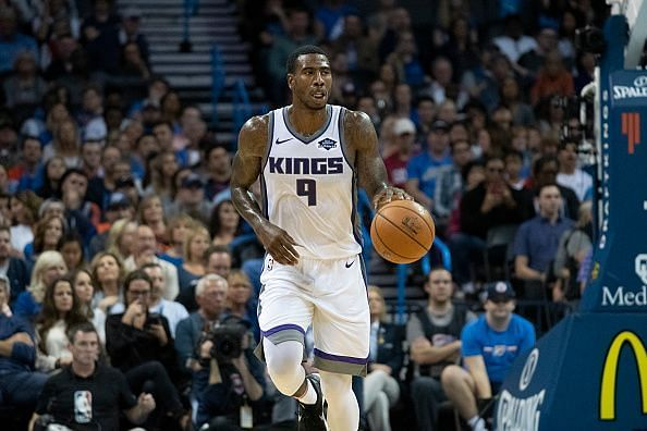 Iman Shumpert has spent stretches at point guard despite primarily being deployed as a shooting guard