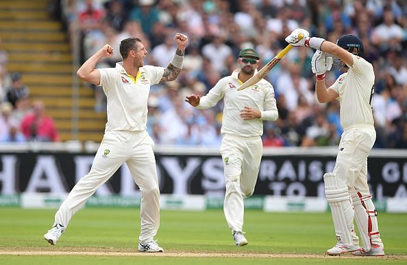 England v Australia - 1st Specsavers Ashes Test: Day Two