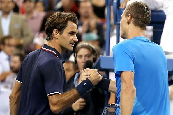 In his last US Open appearance as a top seed, Federer fell to Berdych in the 2012 quarterfinals