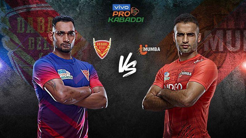 Dabang Delhi K.C. have only beaten U Mumba twice in VIVO Pro Kabaddi history. Can they improve their record?