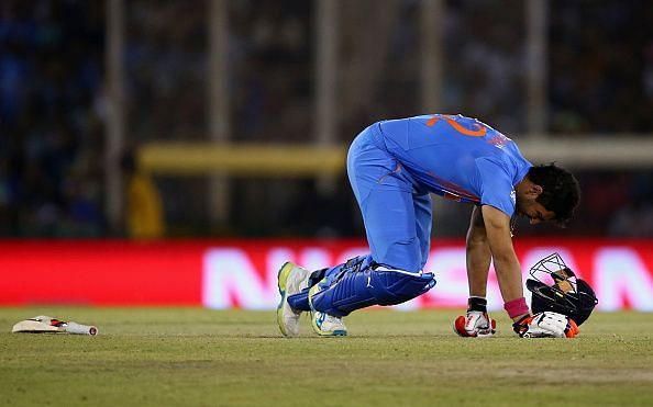 There have been suggestions that Yuvraj has slowed down over the years.