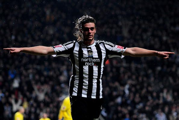 Andy Carroll has returned to his former club, Newcastle United.