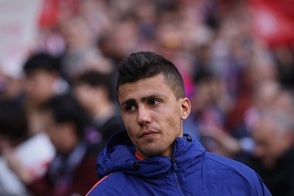 Rodrigo Hernandez looked sharp against Liverpool