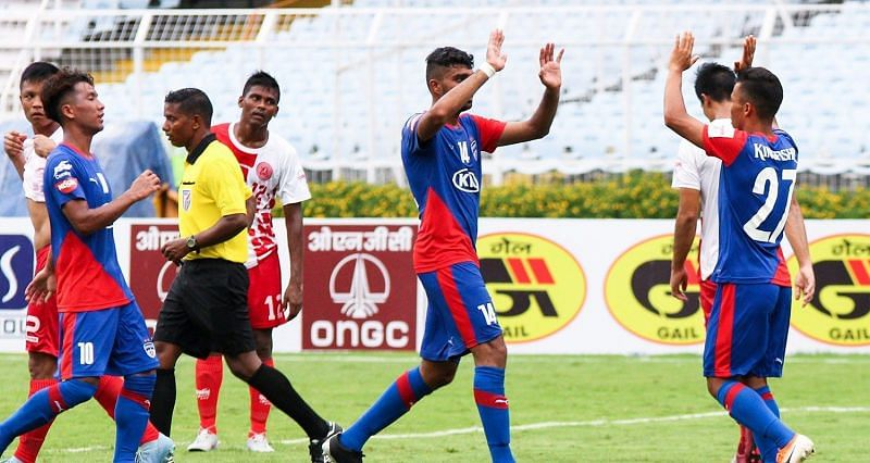 Bengaluru FC looked vulnerable at the back courtesy a very resolute Indian Army Red performance.