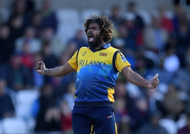 Lasith Malinga picked a wicket on his final delivery